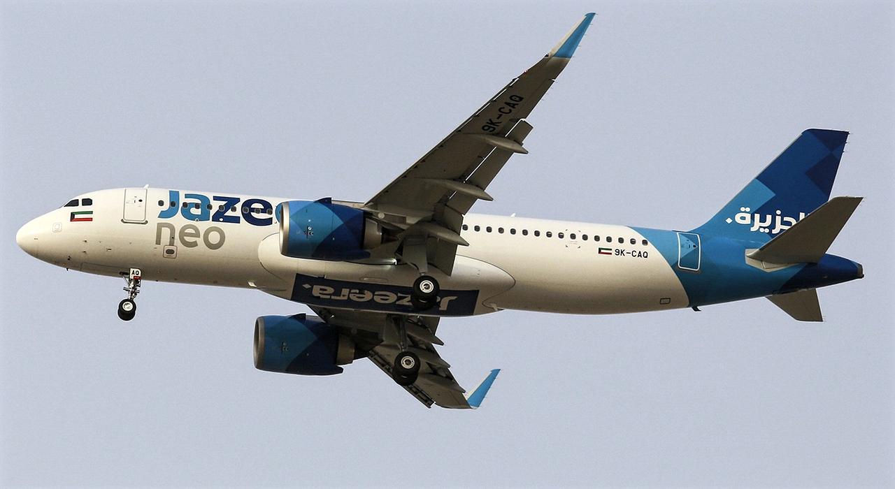 Jazeera Airways Receives First A320neo - AERONEF NET