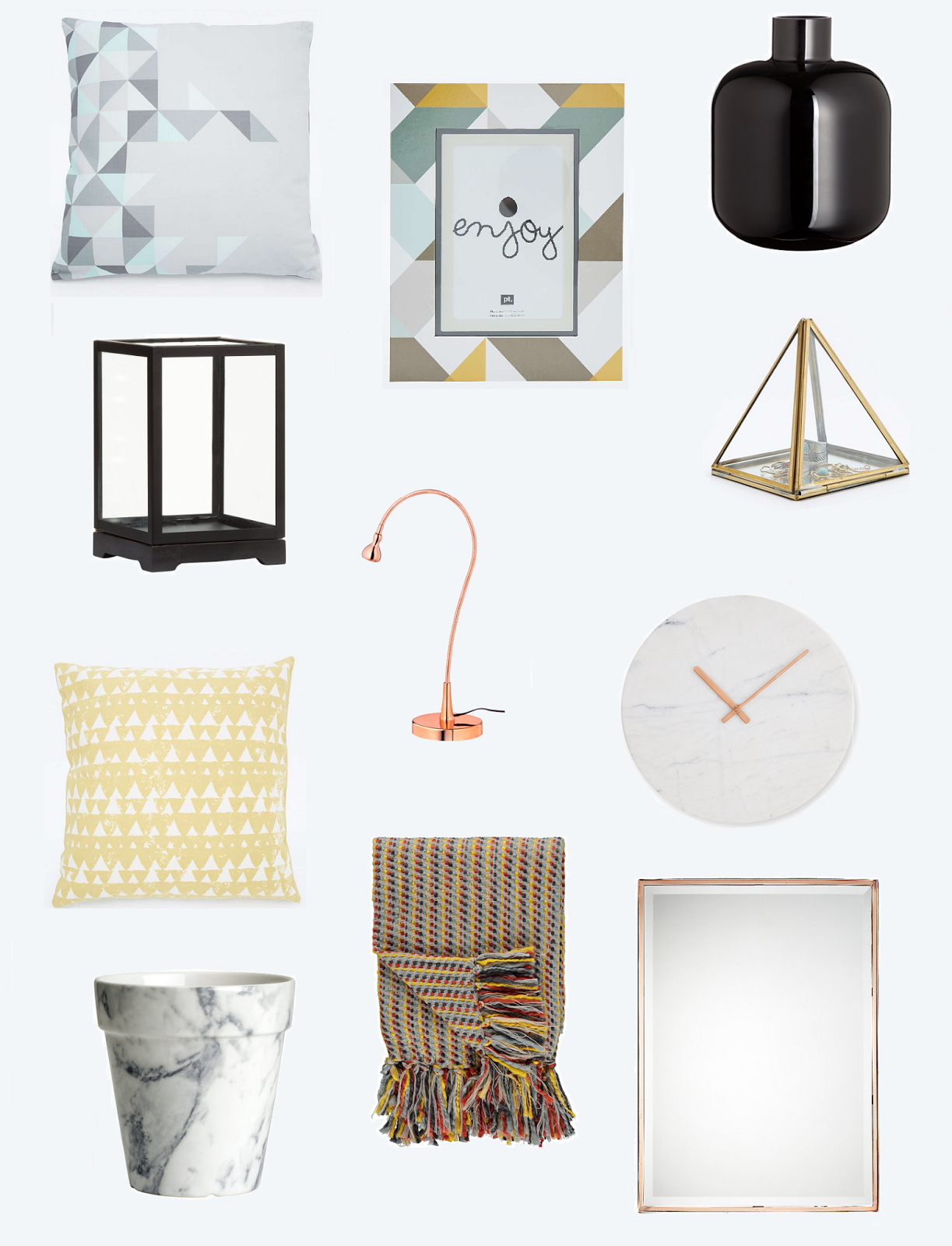 Home Marble and Copper Accessories