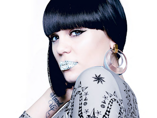 Jessie J Diaomond Lips HD Wallpaper