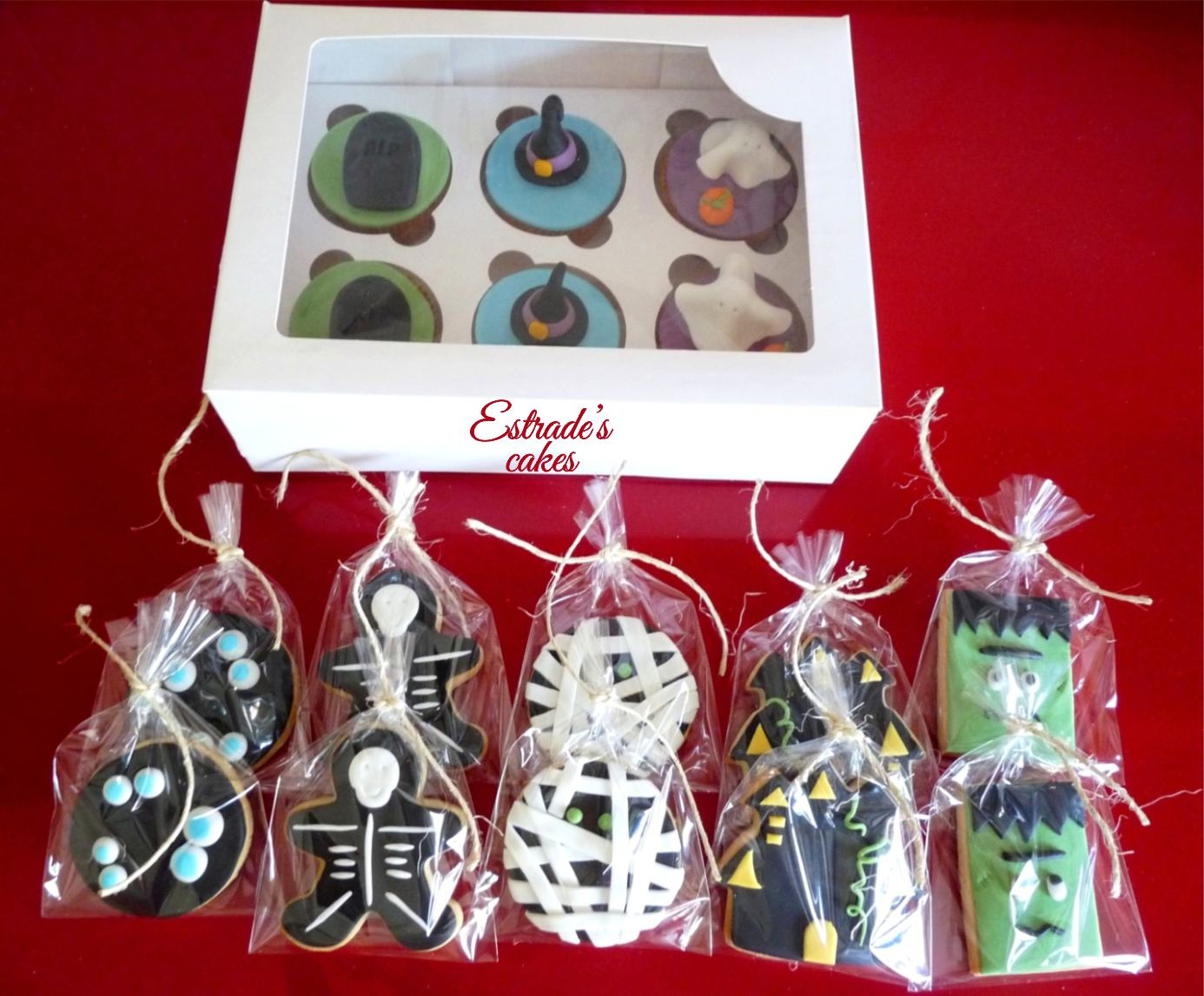 galletas de Halloween con fondant - 5