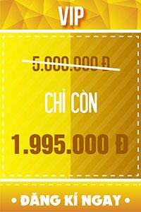 Vé VIP - 1.995.000 đ