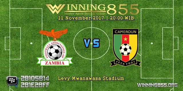 Prediksi Zambia vs Kamerun