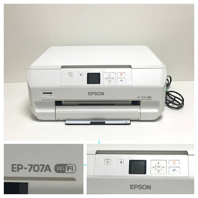 Epson Inkjet Composite Machine Colorio EP–707Aドライバーダウンロード