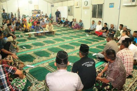 Satgas Kizi Peringati Malam Nuzulul Qur'an di Afrika Tengah