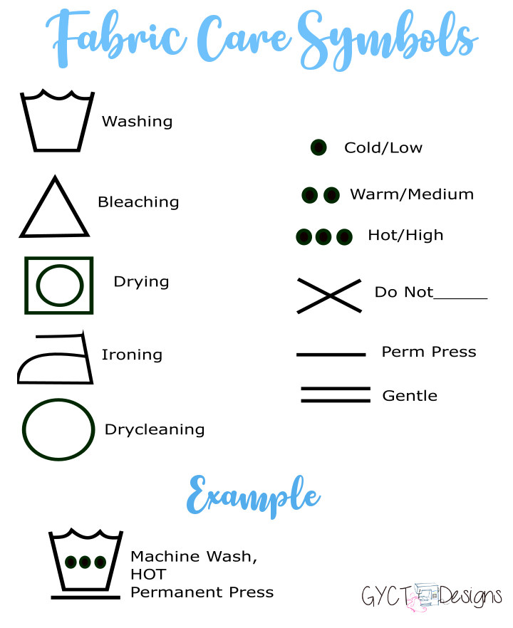 How To Wash Clothing And Fabrics Successfully Gyct Designs