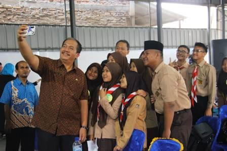 Sekda Asahan Taufik Zainal Buka Event