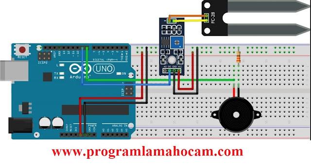 Arduino ile Toprak Nem Sensörü