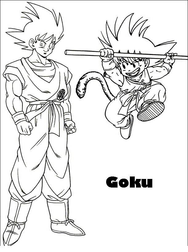 Goku Pequeã O Para Colorear Compresor De Aire Baratos