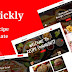 Trickly - Food Recipe PSD Template