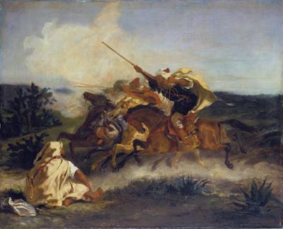 Ελαιογραφία του Eugène Delacroix