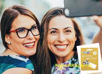 Logo '' Il sorriso lascia il segno'' : vinci gratis 300 buoni spesa da 5 euro