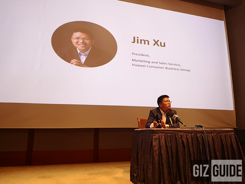 Jim Xu, President of Marketing and Sales Service, Huawei Consumer Business Group