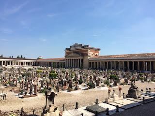 The Monumental Cemetery of Verona, Italy