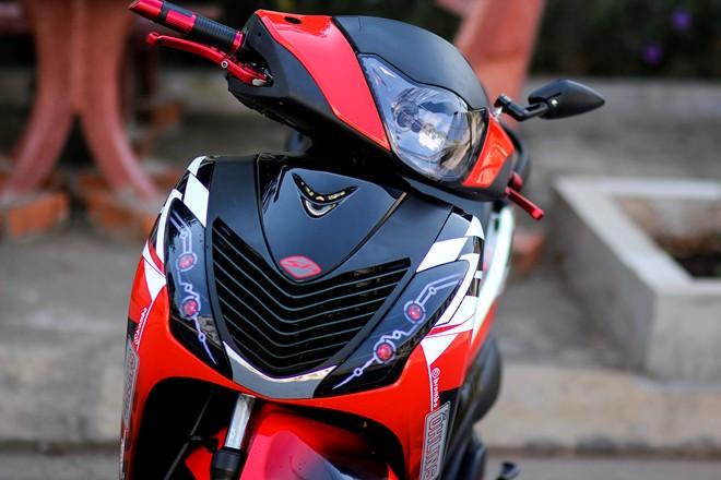 Honda Sh sơn tem đấu cực đẹp và phong cách