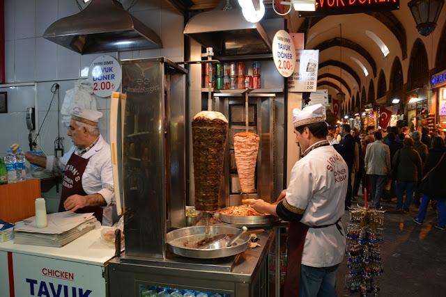 Egyptian Market Istanbul Doner