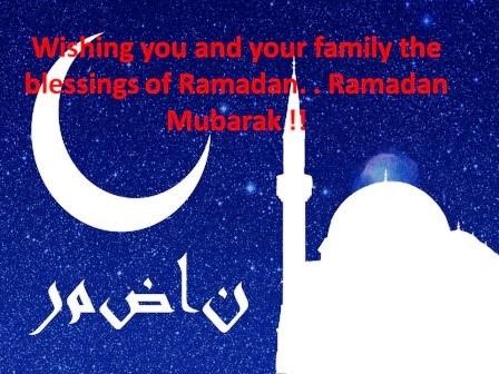 Happy Ramadan Kareem SMS 2020