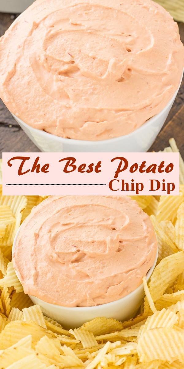 The Best Potato Chip Dip #apprtizerrecipes