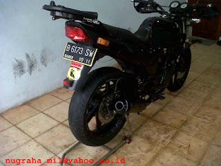 Jual Motor Honda Tiger full modif