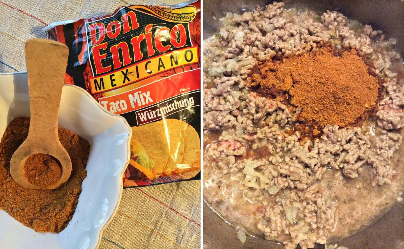 spezie per tacos