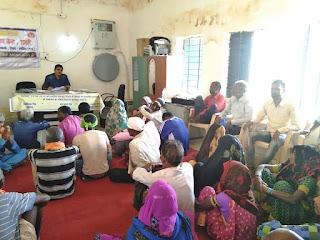 राजस्व सेवा अभियान के तहत ग्राम अमड़ी वृत्त तामन्नारा में कार्यक्रम संपन्न