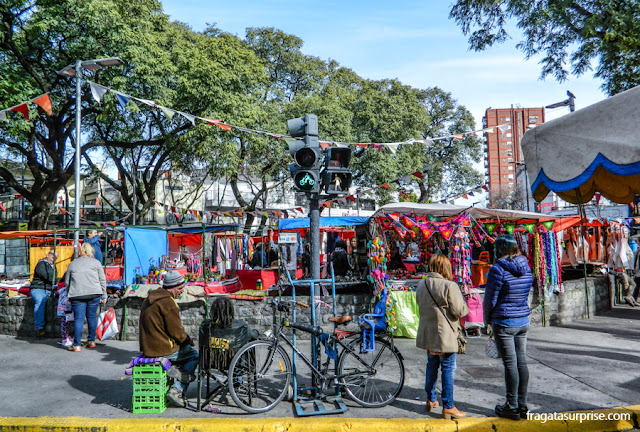Feira da Praça Serrano, Palermo Soho, Buenos Aires