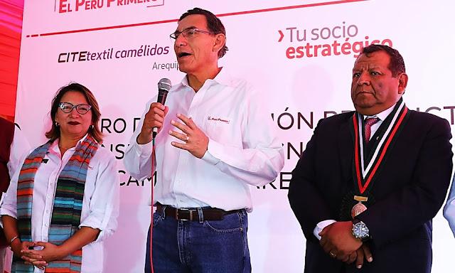 Martín Vizcarra sobre demanda de Odebrecht