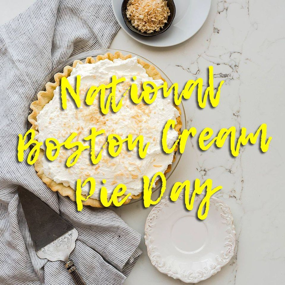 National Boston Cream Pie Day Wishes for Whatsapp