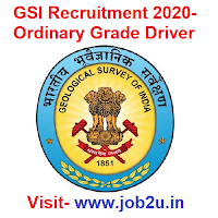 GSI Recruitment 2020, Ordinary Grade Driver