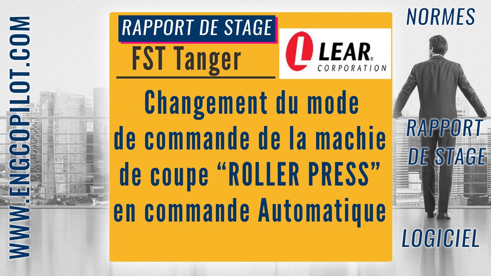 Telecharger Rapport De Stage Pfe Changement Du Mode De
