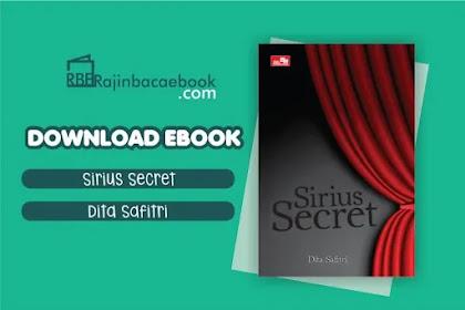 Download Novel Sirius' Secret by Dita Safitri Pdf