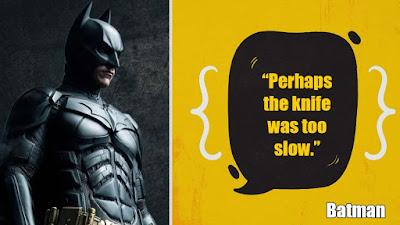 Fantastic Batman Quotes