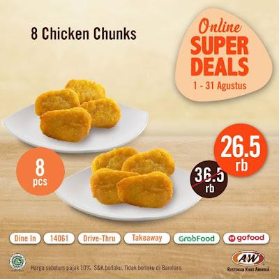#Promosi247 #AW - Promo Paket Menu Baru Dengan Harga Super Deal Mulai 20K (s.d 31 Agustus 2020)