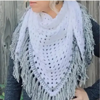 Bufanda o Pañuelo a Crochet