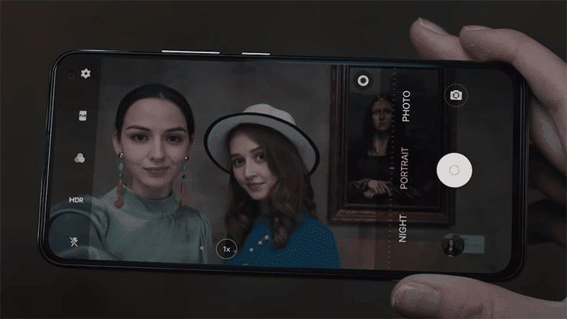 Super Night Photography for both selfies and rear cameras