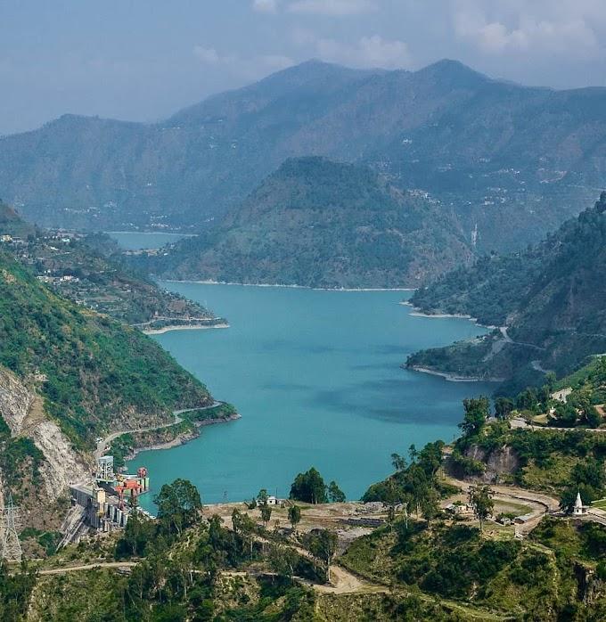 Chamera Lake & Dam in Dalhousie   District Chamba   Himachal Pradesh