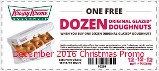 Krispy Kreme coupons december