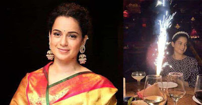 Kangana Ranaut Celebrate Diwali in Los Angeles