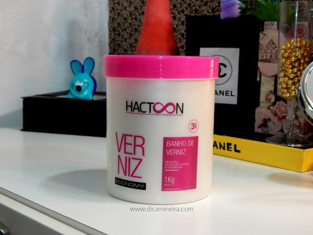 Banho de Verniz | Hactoon Professional