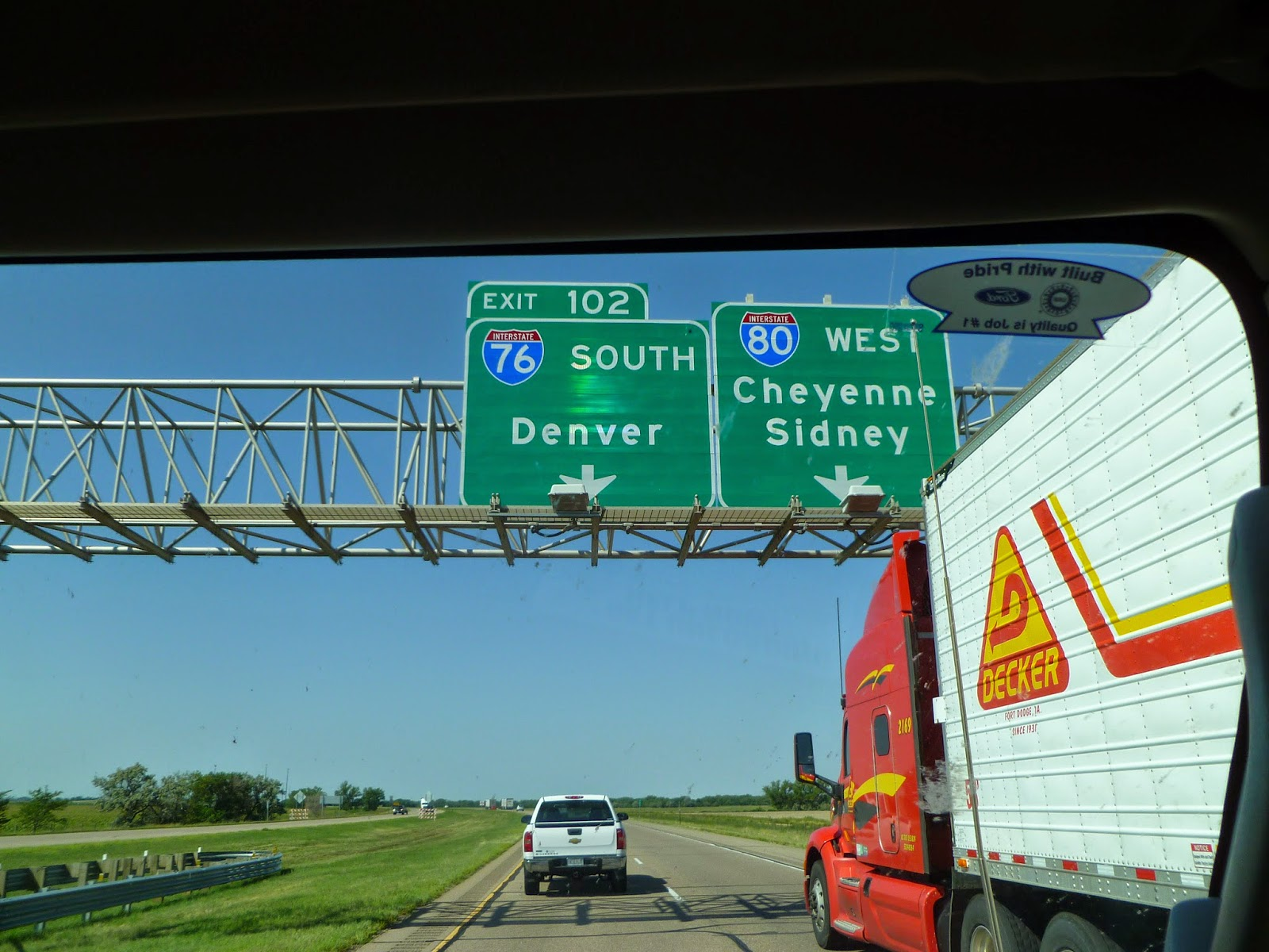 Denver To Omaha Drive the travelling goalie: the road trip (omaha-denver)