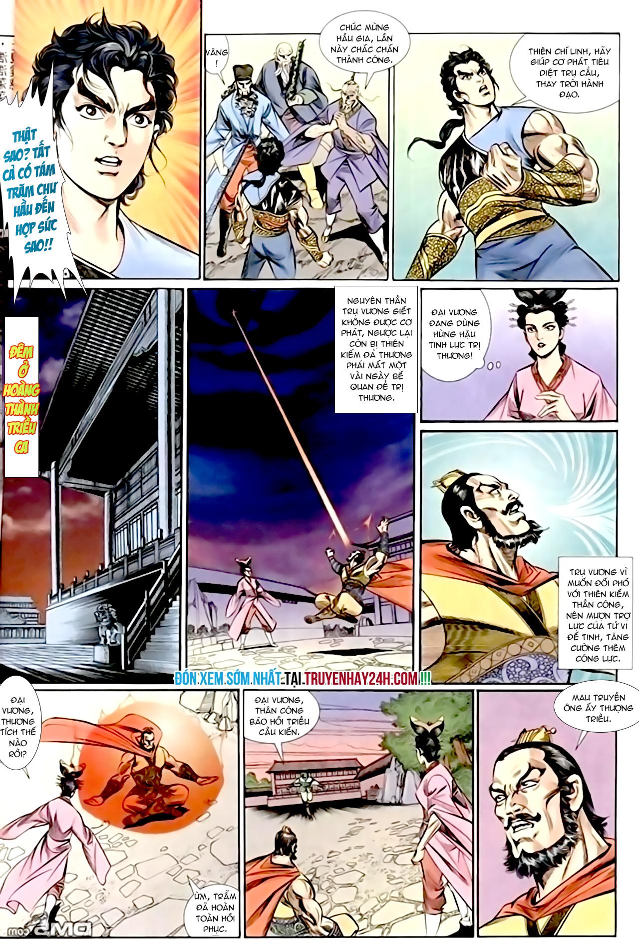 Cơ Phát Khai Chu Bản chapter 156 trang 30