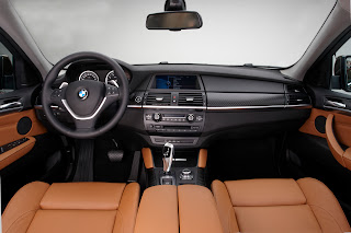 2013 new BMW X6 restyled interior seat cockpit official media picture