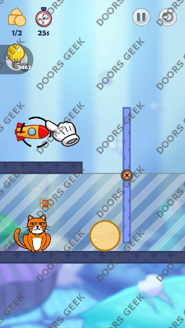 Hello Cats Level 72 Solution, Cheats, Walkthrough 3 Stars for Android and iOS
