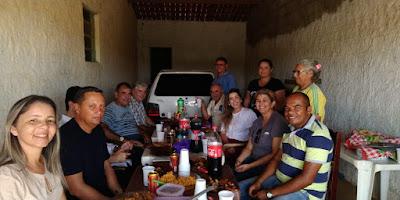 Moradores do sítio Garapa oferecem almoço de agradecimento à prefeita Lorena e confirmam apoio incondicional ao seu projeto de reeleição