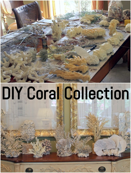 How to Make Faux Coral Figurines
