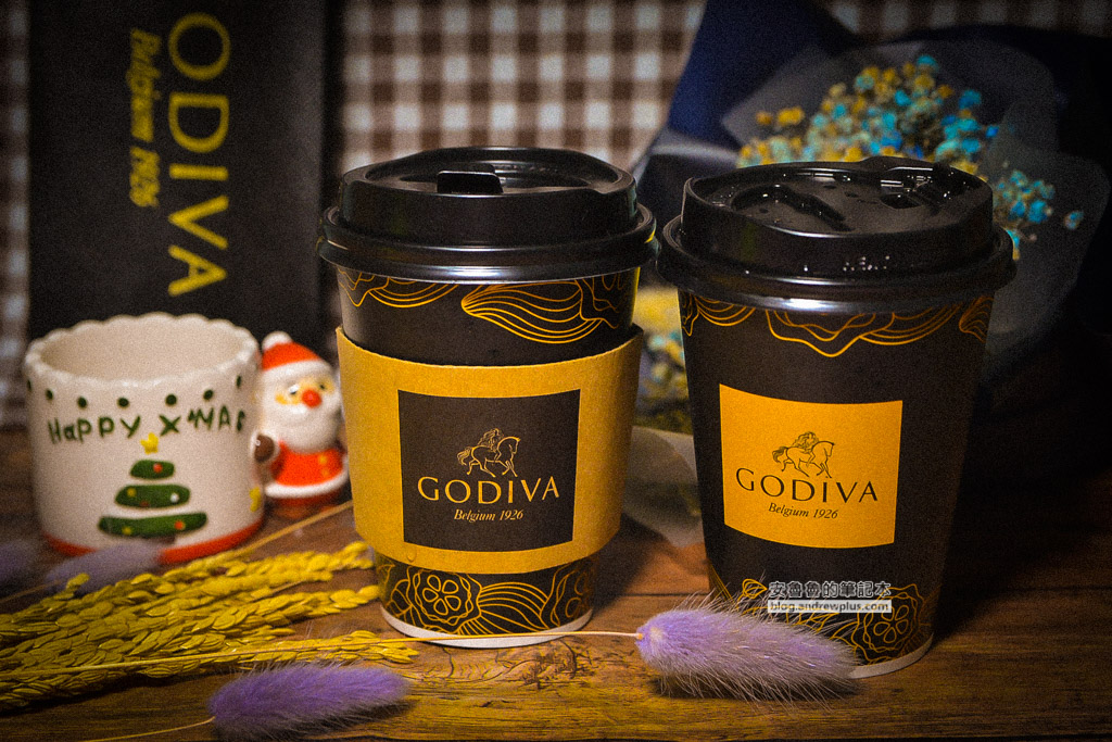 7-11godiva巧克力,便利商店巧克力飲料,冬季限定醇黑熱巧克力
