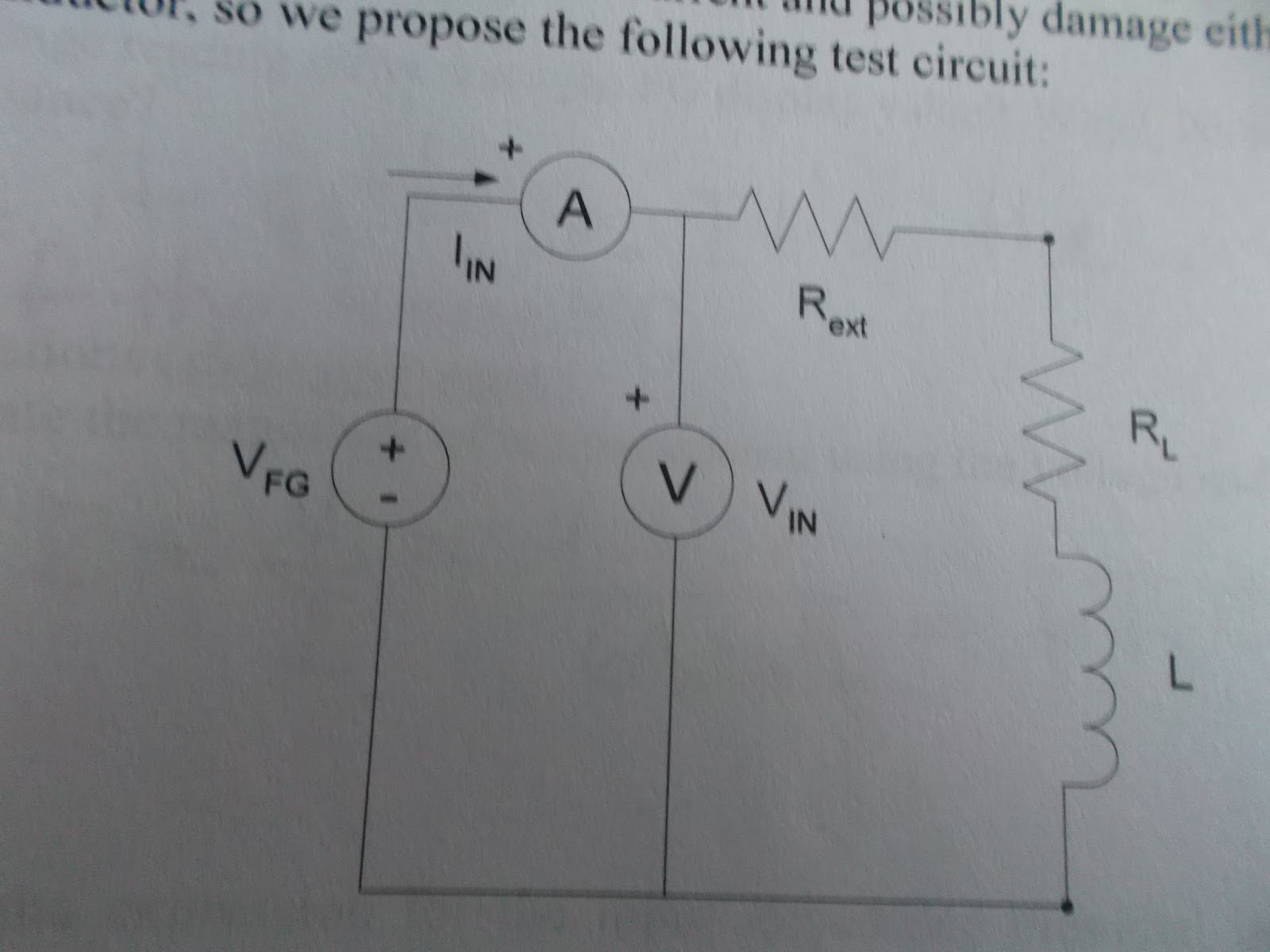 Inductor Investigations Circuit