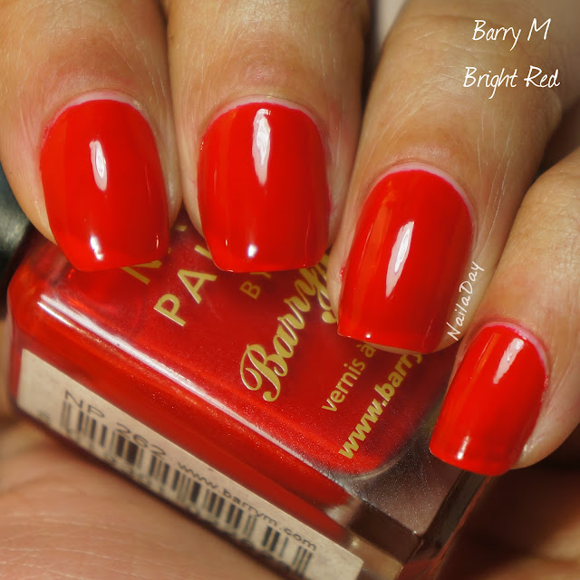 NailaDay: Barry M Bright Red