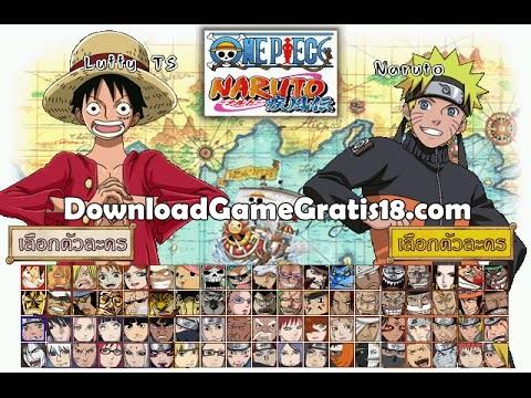 One Piece VS Naruto Mugen Full Version 2015