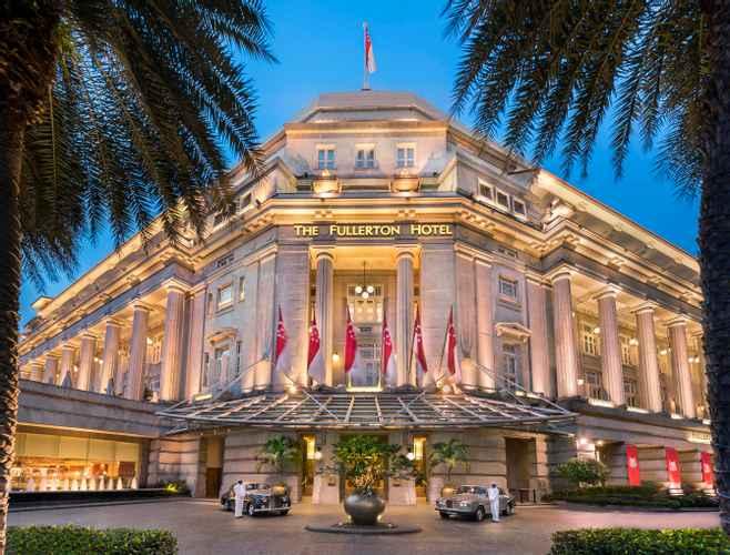 Enjoying the Iconic Fullerton Hotel Singapore