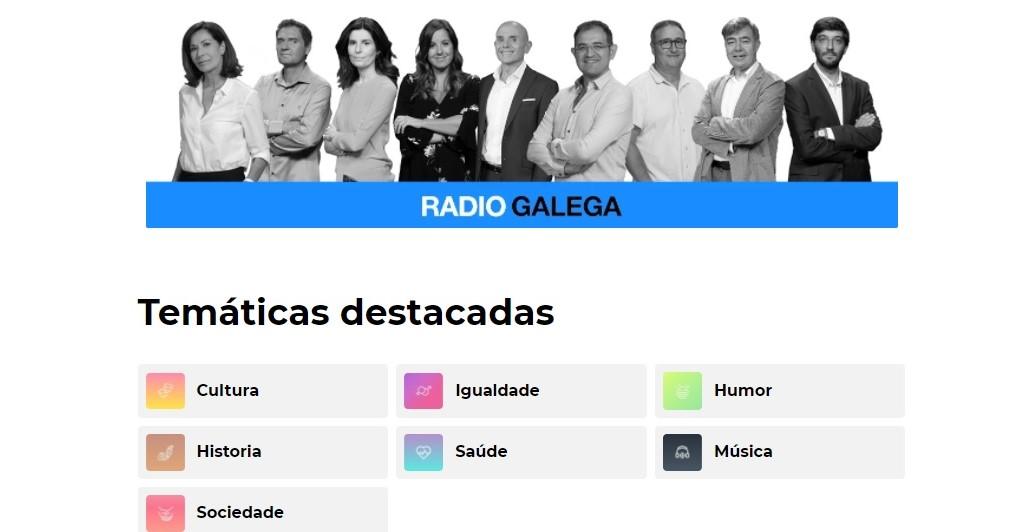 RADIO GALEGA ABRE PLATAFORMA DE PODCAST